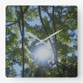 Beautiful Nature Print Wall Clocks