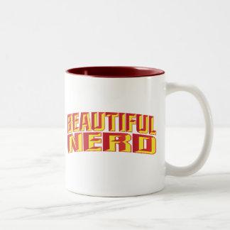 Beautiful Nerd Two-Tone Mug