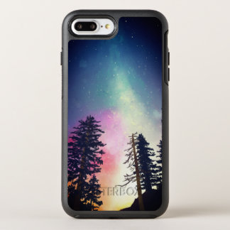 Beautiful night sky shining up to the heavens OtterBox symmetry iPhone 7 plus case