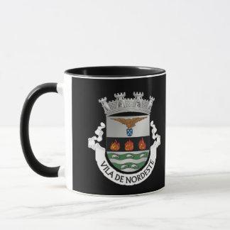 Beautiful Nordeste (Azores) Coat of Arms Mug