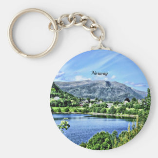 Beautiful Norway Keychain