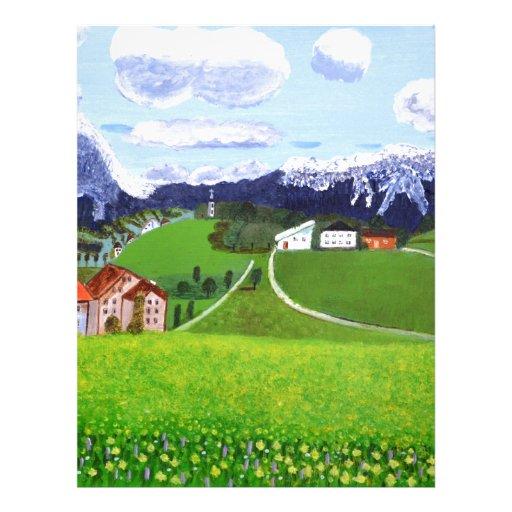 Beautiful Norway Letterhead