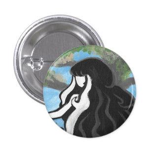 Beautiful Nova 1 Inch Round Button