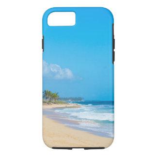 Beautiful ocean beach, gentle waves & blue sky Case-Mate iPhone case