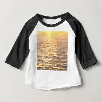 Beautiful Ocean Golden Hour Sunrise Baby T-Shirt