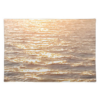 Beautiful Ocean Golden Hour Sunrise Placemat