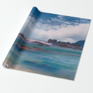 Beautiful Ocean Scenic View Landscape Gift Wrap