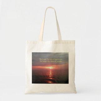 Beautiful Ocean Sunrise Inspirational Quote