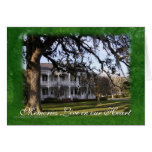 Beautiful ol' Mansion-customize-any occasion Card