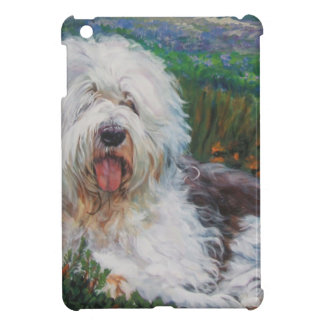 Beautiful Old English Sheepdog Dog Art Painting Cover For The iPad Mini