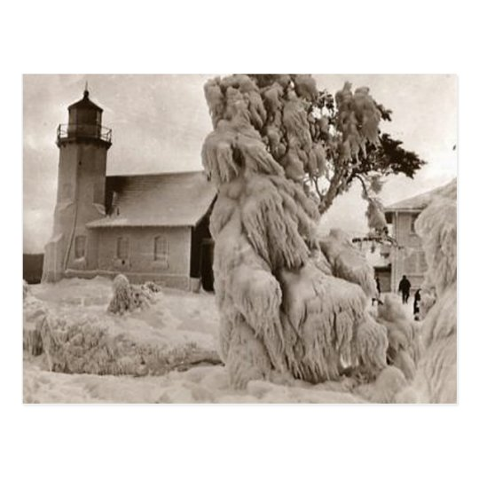 Beautiful Old Rustic Vintage Lighthouse Photos Postcard