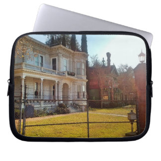 Beautiful Old Style Victorian Home Laptop Sleeves