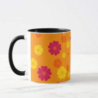 Beautiful orange mug