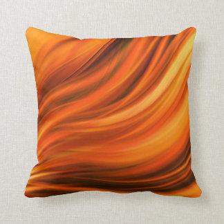 Beautiful orange pillow