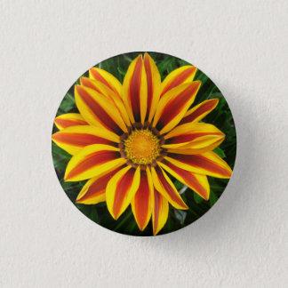 Beautiful Orange Sun Flower Photo 1 Inch Round Button