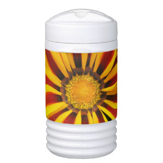 Beautiful Orange Sun Flower Photo Cooler