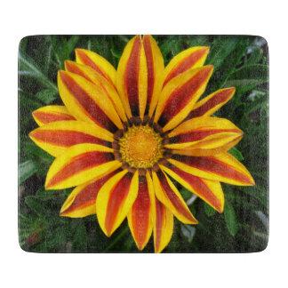 Beautiful Orange Sun Flower Photo Cutting Board