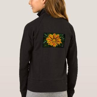 Beautiful Orange Sun Flower Photo Jacket