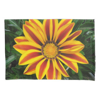 Beautiful Orange Sun Flower Photo Pillowcase