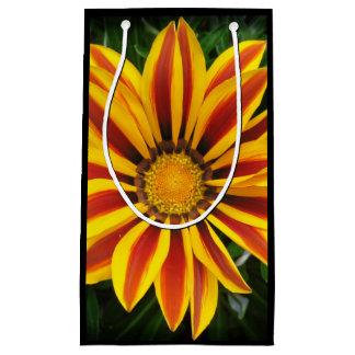 Beautiful Orange Sun Flower Photo Small Gift Bag