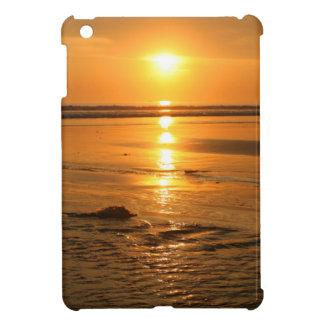 Beautiful orange sunset at the beach in Bali iPad Mini Cover