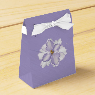 Beautiful Orchid Lavender  Favor Box