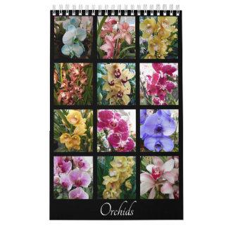 Beautiful Orchids Calendars
