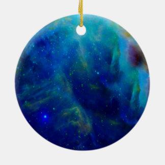 Beautiful Orion Nebula Round Ceramic Ornament