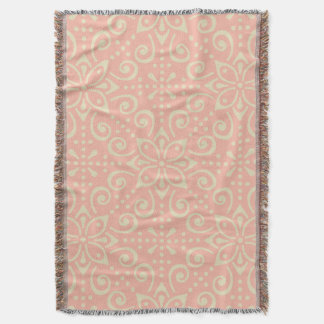 Beautiful Ornamental BoHo Kaleidoscopic Chic Style Throw Blanket
