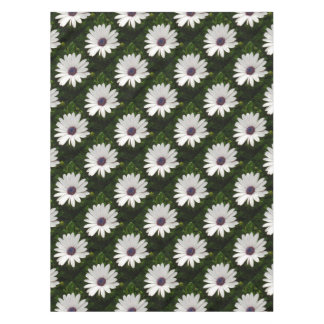 Beautiful Osteospermum White Daisy Tablecloth