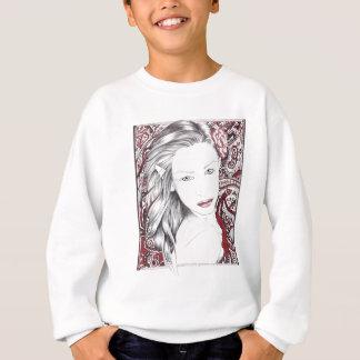 Beautiful Paisley Female Elf Sweatshirt