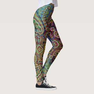 Beautiful  Paisley Leggings
