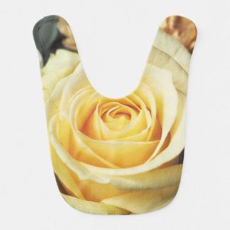 Beautiful Pale Yellow Rose Bib