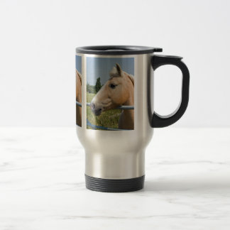 Beautiful Palomino Horse Travel Mug