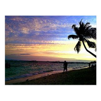 Beautiful Panglao Beach Postcard