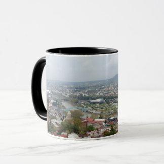 Beautiful panoramic view of Tbilisi Mug