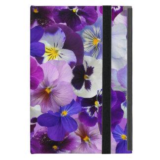 Beautiful Pansies Spring Flowers, iPad Mini Case
