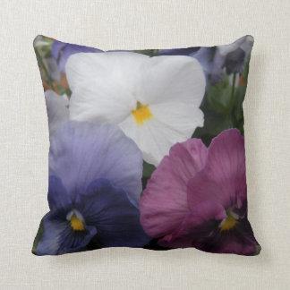 Beautiful Pansy Pillow