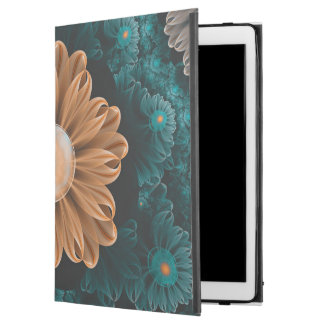 "Beautiful Paradise Chrysanthemum of Orange & Aqua iPad Pro 12.9"" Case"