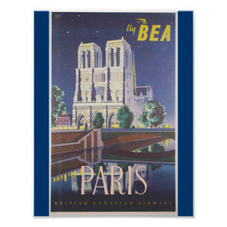 Beautiful Paris Poster
