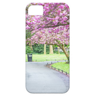 Beautiful park during the spring iPhone 5 cover