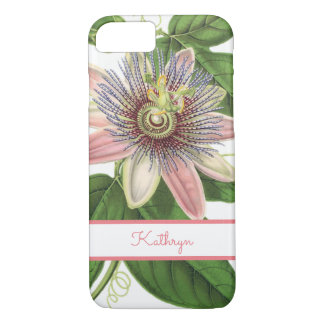 Beautiful Passion Flower iPhone 7 Case