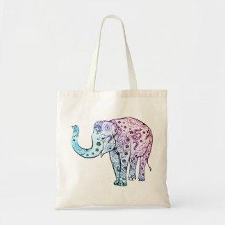 Beautiful Pastel Elephant Bag