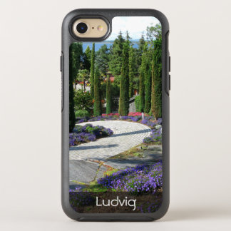 Beautiful Path in Park Photo any Text OtterBox Symmetry iPhone 8/7 Case