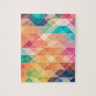 beautiful pattern fashion style rich looks colours jigsaw puzzle