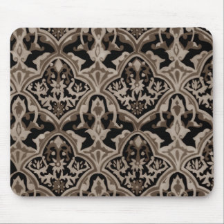 Beautiful pattern Sepia Mouse Pad