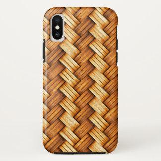 beautiful pattern wood fashion style rich looks iPhone x case