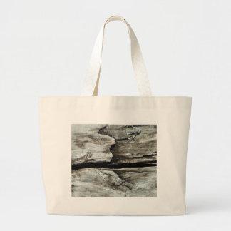 beautiful pattern wood fashion style rich looks large tote bag