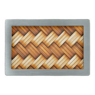 beautiful pattern wood fashion style rich looks rectangular belt buckle