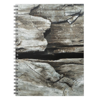 beautiful pattern wood fashion style rich looks spiral notebook